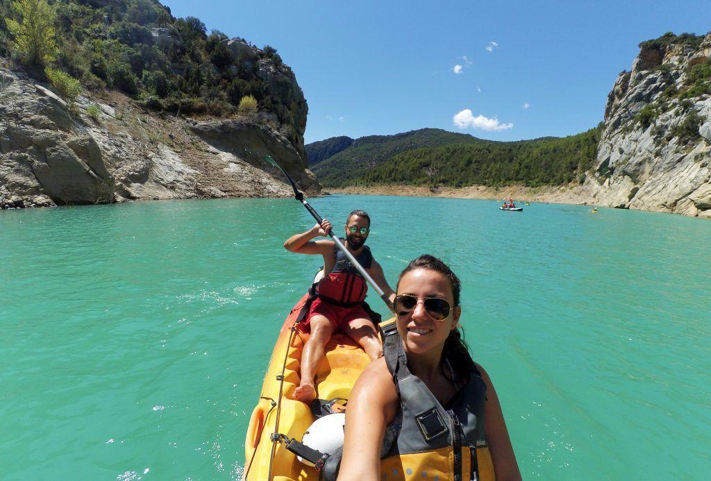 congost mont rebei kayak