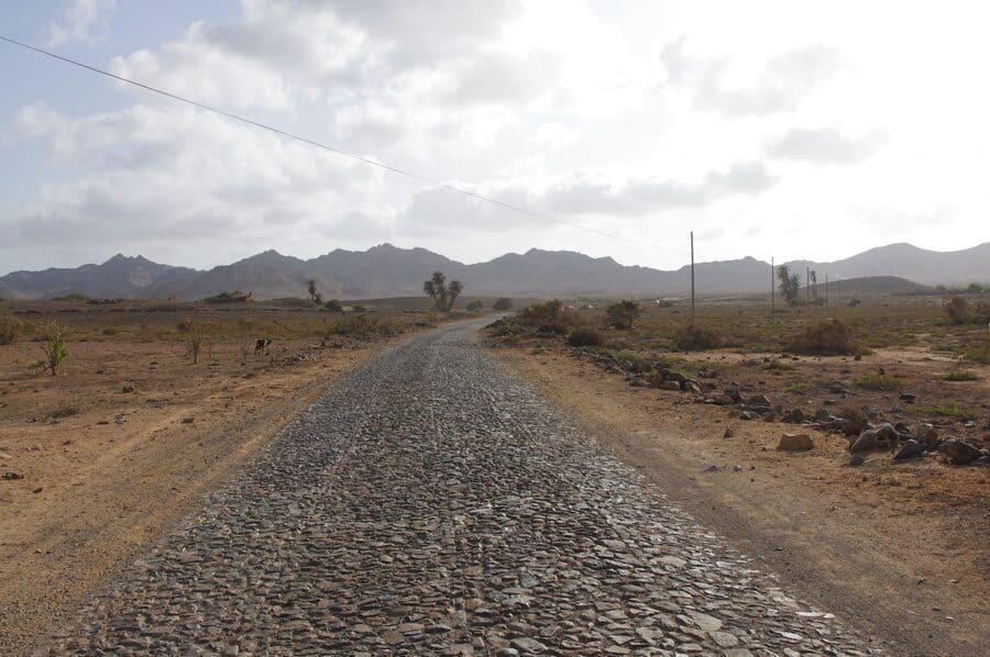 Camino a sal rei, Boa Vista, Cabo Verde