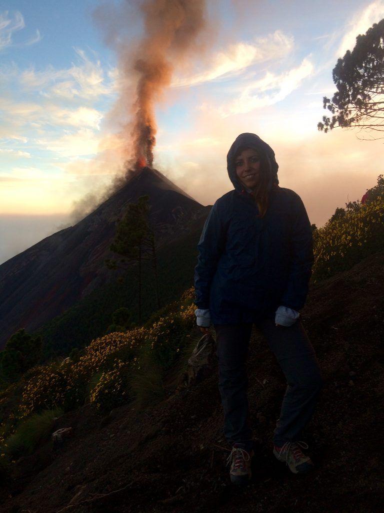 campo base volcán Acatenango