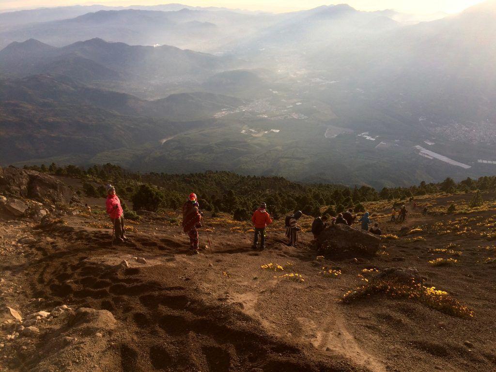 Acatenango Trek - Espectacular vista desde un volcán • IMG 3184