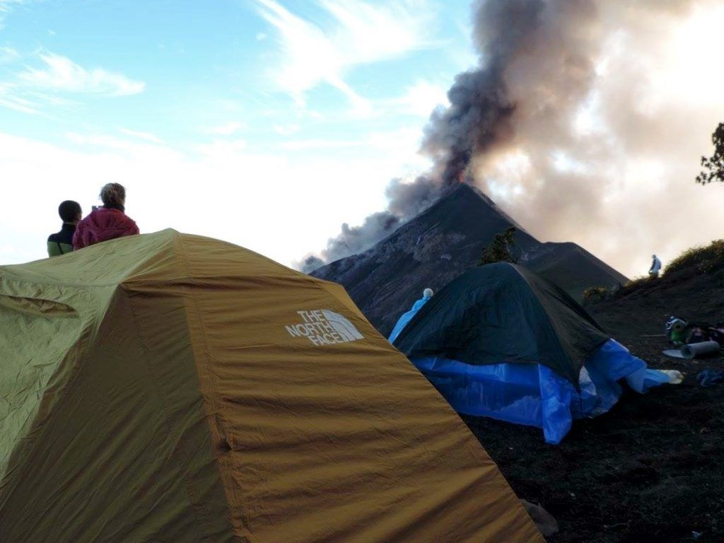 Acatenango Trek - Espectacular vista desde un volcán • IMG 3219