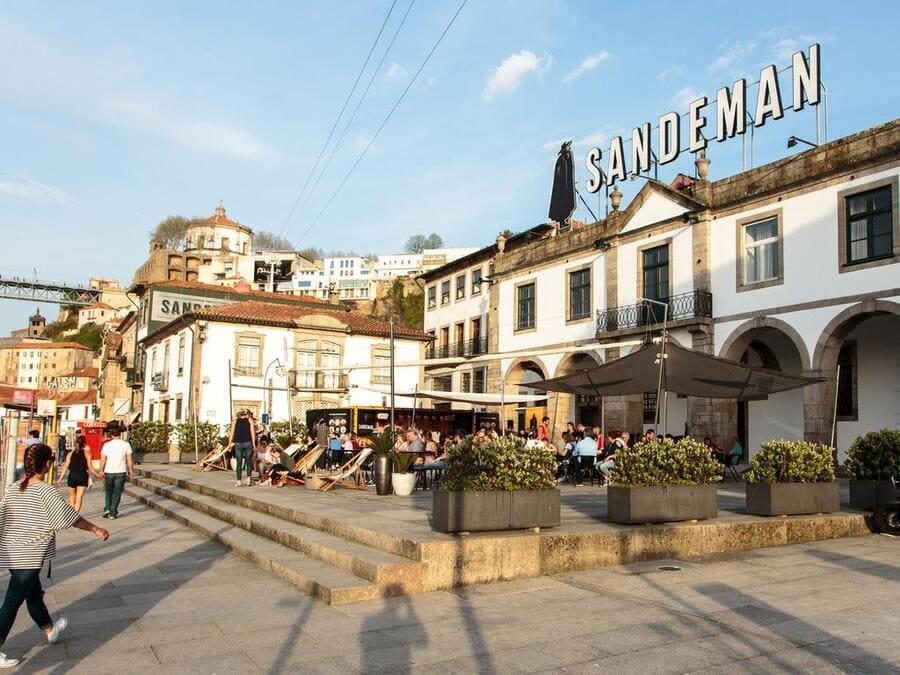 Gaia Sandeman, Oporto