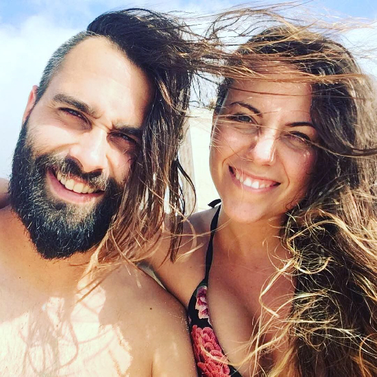 David y Carolina - mochilerosherpa
