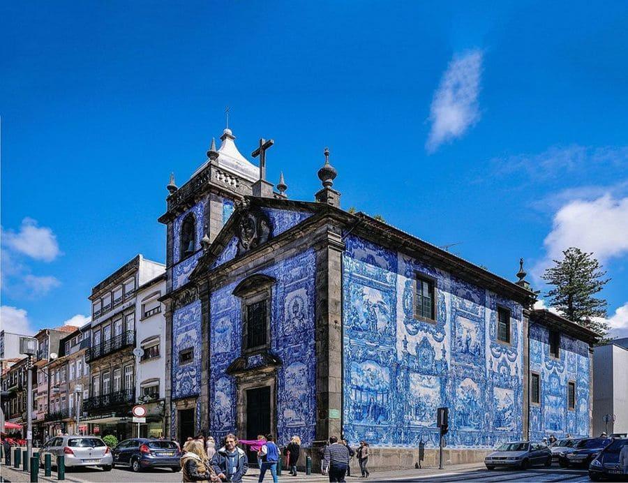 Capela das Almas, Oporto, Portugal