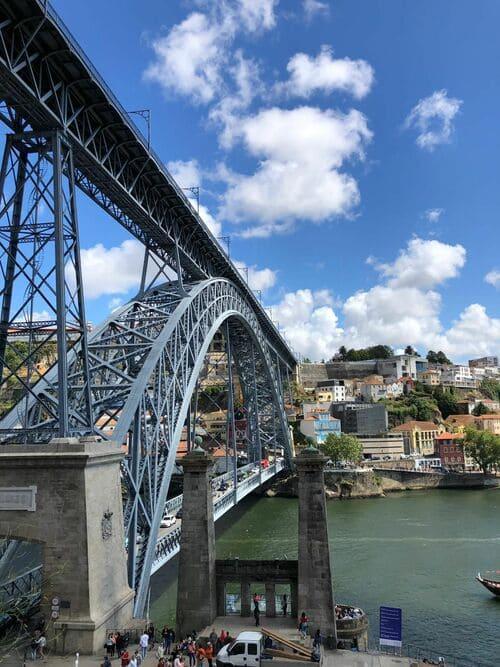 Puente Don Luis I de día