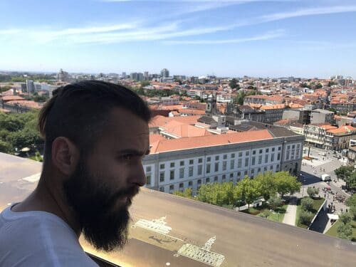 Arriba de Torre dos clérigos, Oporto
