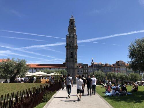 Torre dos clérigos, Oporto, Portugal