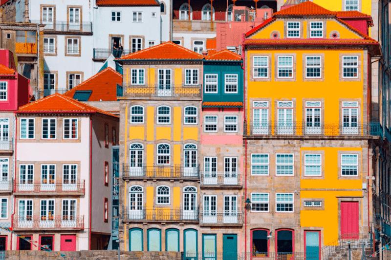 Casas Ribeira Oporto