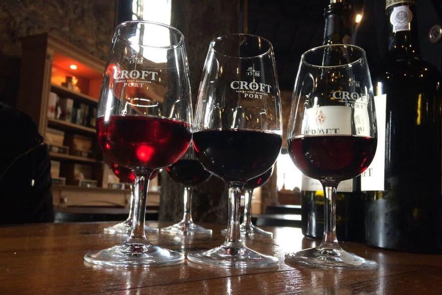 Cata de vinos Croft, Oporto, Portugal