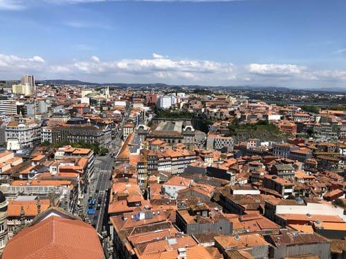 panorámica vistas Oporto