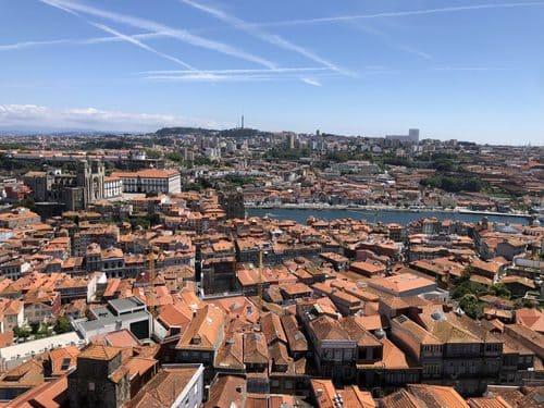 panorámica 2 vistas Oporto