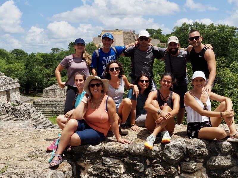 Viaje en grupo a México 12 días Diciembre • Ek balam viaje grupo