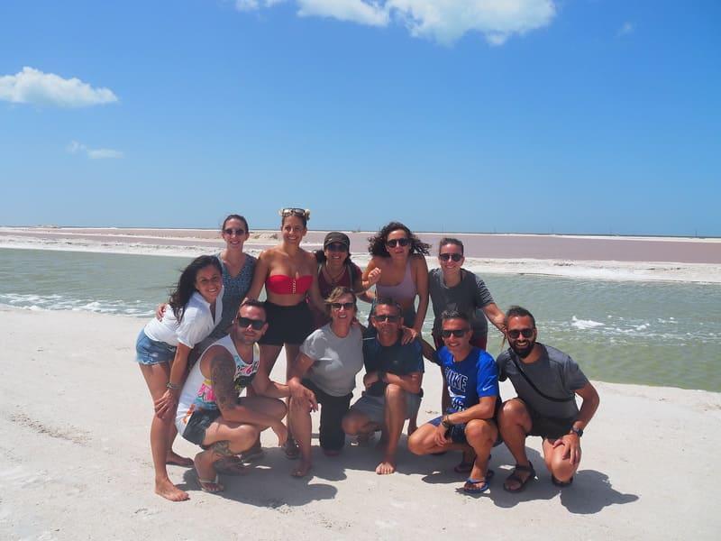 Viaje en grupo a México 12 días Diciembre • Río lagartos